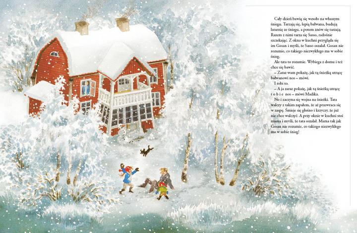 Patrz Madika Pada śnieg Księgarnia Bullerbyn