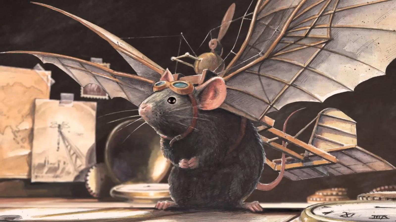 Niezwykle Przygody Latajacej Myszy Ksiegarnia Bullerbyn