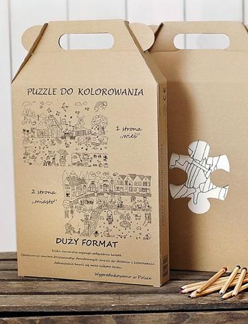 miasto-wieś pudełko